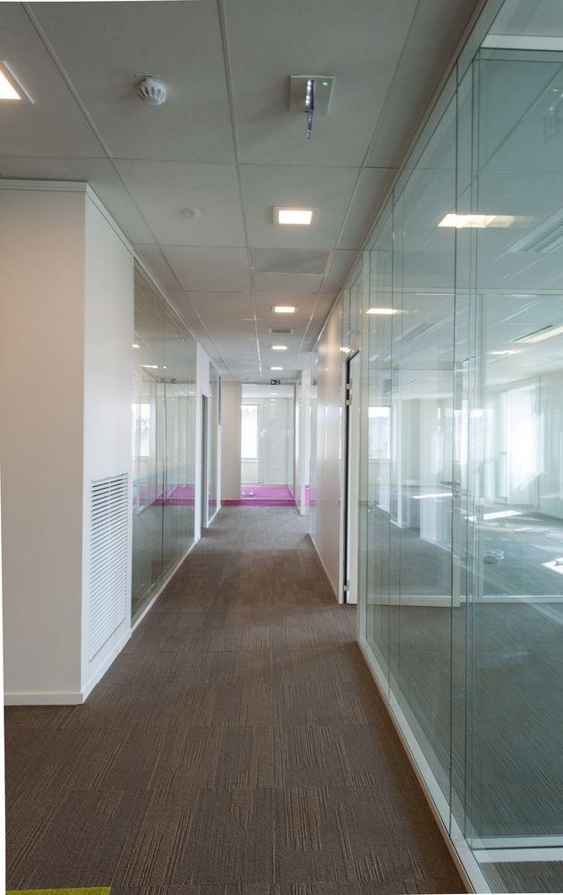 Centre francilien de l 39 innovation am nagement de bureau et pose de cloisons express - Cloison placostil 72 48 ...